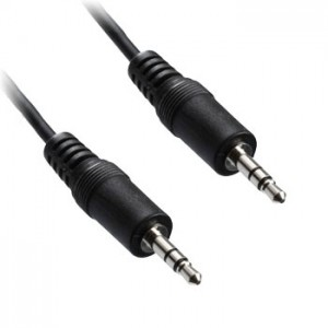 3.5mm jack to 3.5mm jack cable, Length 1m