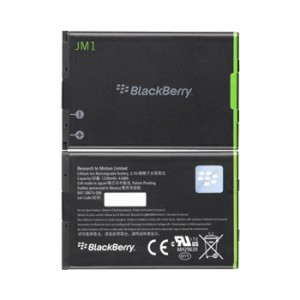 Battery Blackberry Original JM1 (Bold 9790, 9900, 9930,  Curve 9380, Torch 9850, 9860) 1230mAh