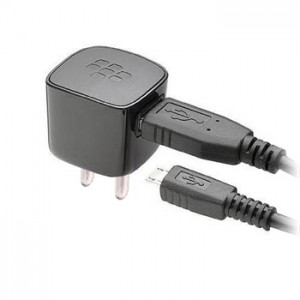 Blackberry Fixed Blade USB Power Adapter Charger