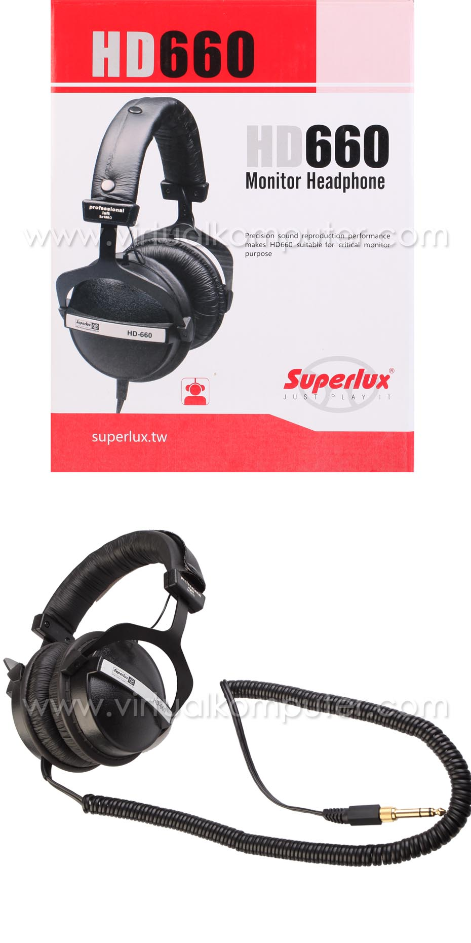 Headphone Superlux HD660 Overview