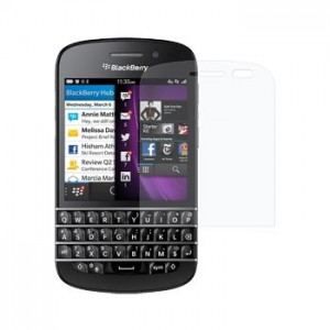 Screen Protector Blackberry Q10 Clear, Anti Glare, Mirror