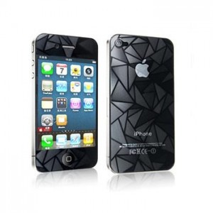 Screen Protector iPhone 4, 4S Front,Back 3D Diamond