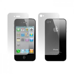Screen Protector iPhone 4, 4S Front,Back Clear, Anti Glare, Mirror