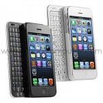 Keyboard Case for iPhone 5, 5S