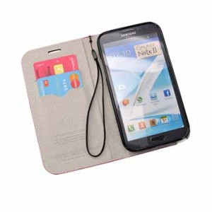 Wallet Leather Case for Samsung Galaxy Note2 N7100