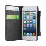 Wallet Leather Case for iPhone 5