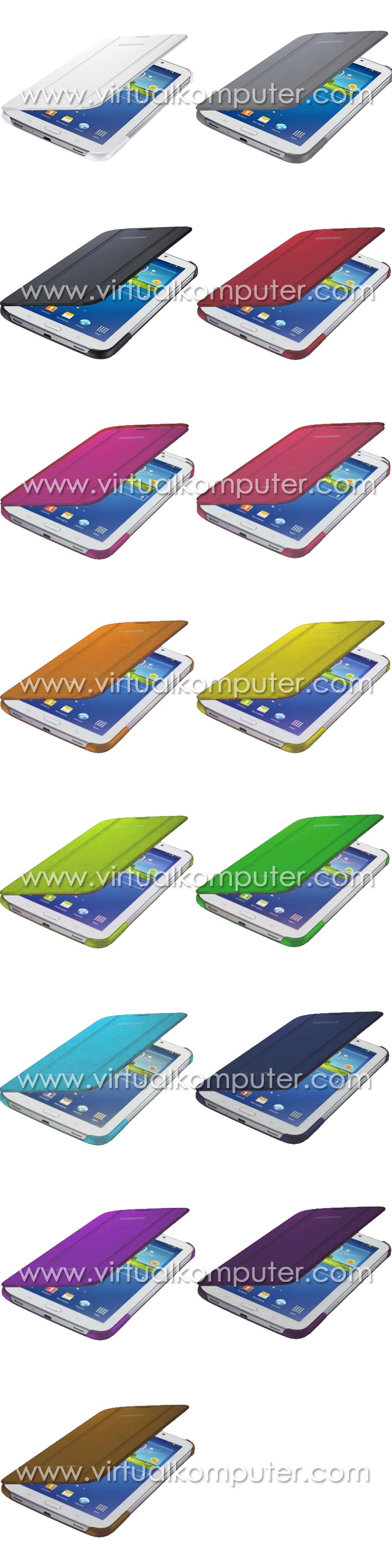 Book Cover Case Stand for Samsung Galaxy Tab3 7.0 P3200 Overview