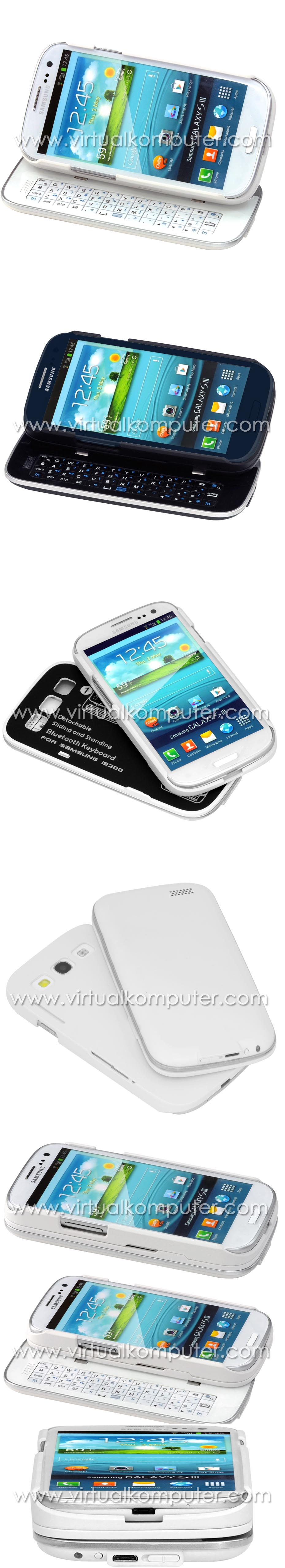 Keyboard Case for Samsung Galaxy S3 I9300 Overview