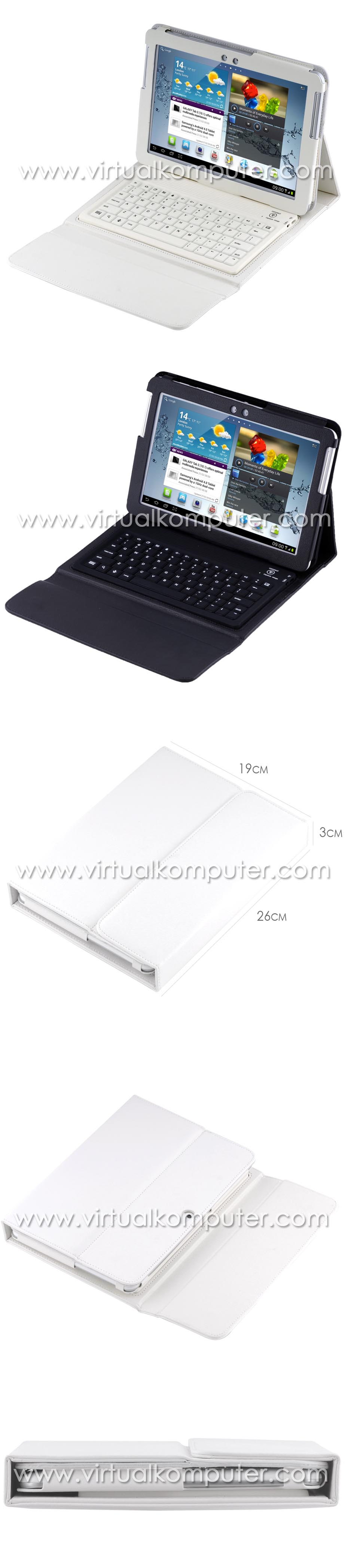 Keyboard Case for Samsung Galaxy Tab 10.1 P5100 P7500 Overview