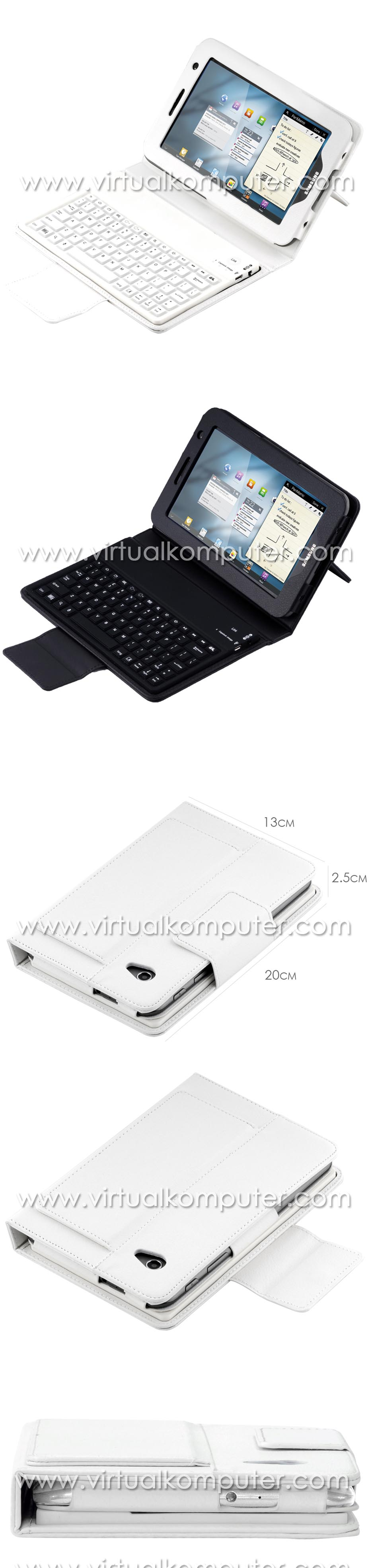 Keyboard Case for Samsung Galaxy Tab 7.0 P3100, P6200 Overview