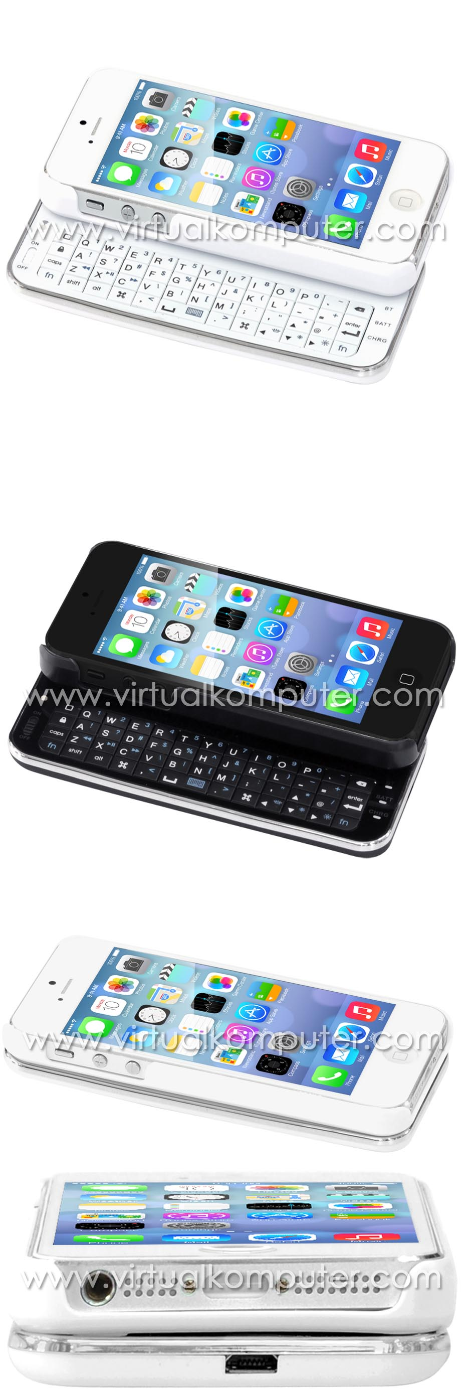 Keyboard Case for iPhone 5, 5S Overview