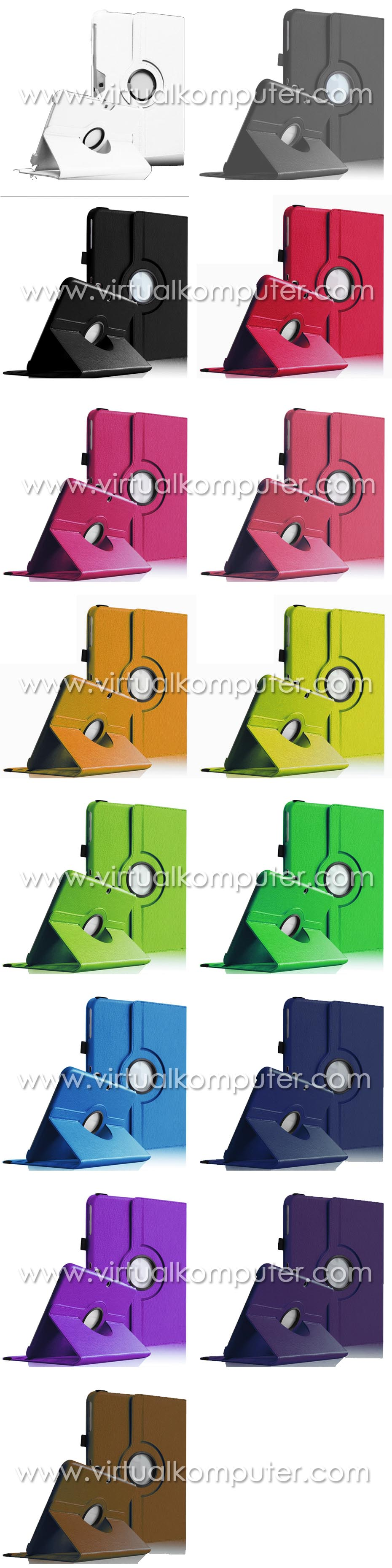 Rotate Case 360 (Leather) for Samsung Galaxy Tab3 10.1 P5200 Overview