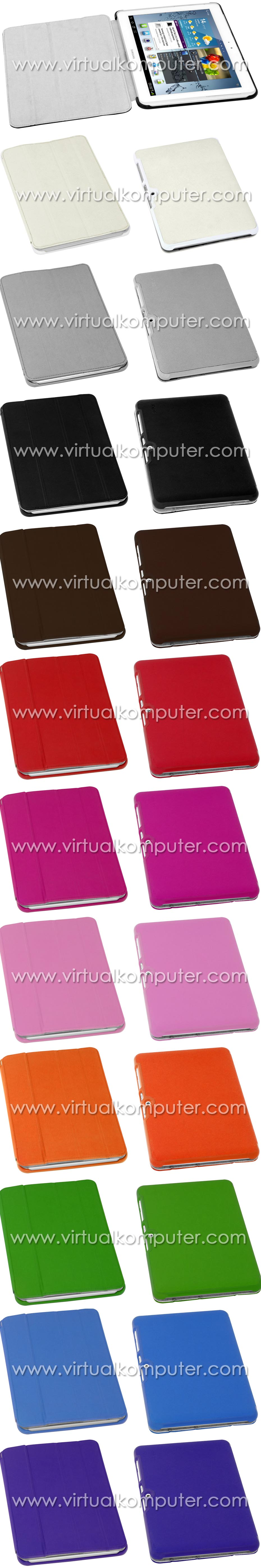 Smart Case (Leather) for Samsung Galaxy Tab 10.1 P5100 P7500 Overview