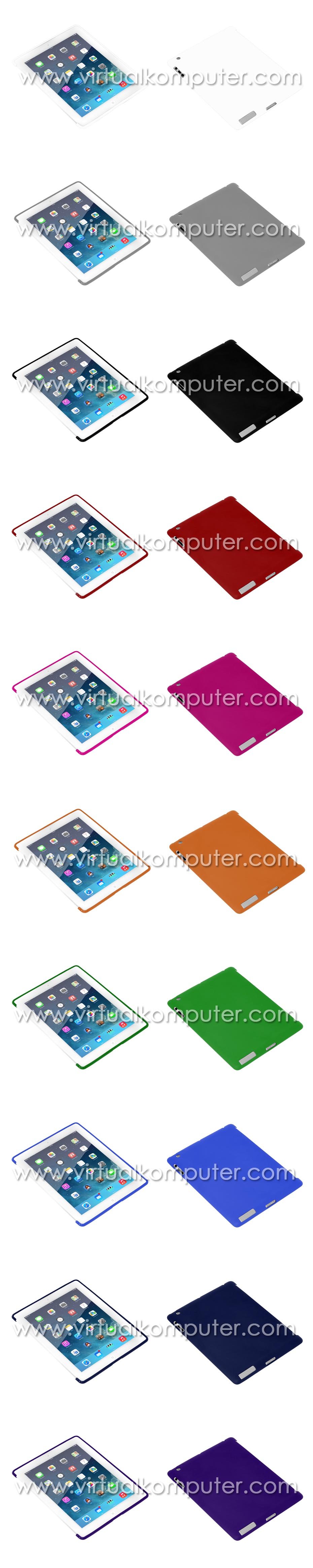 Softcase for iPad 2, 3, 4 Overview