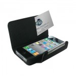 Wallet Leather Case for iPhone 4, 4S