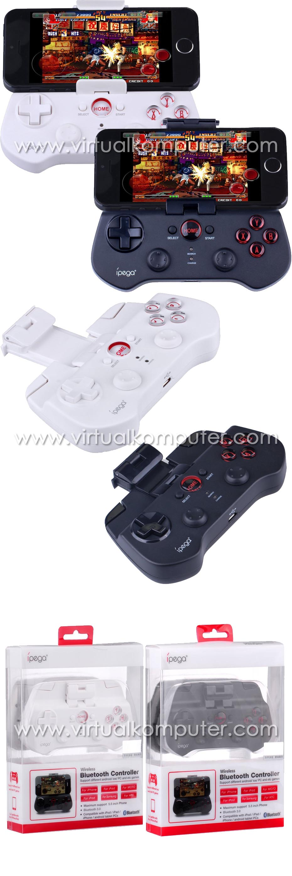 Ipega Bluetooth Controller PG-9017s Overview