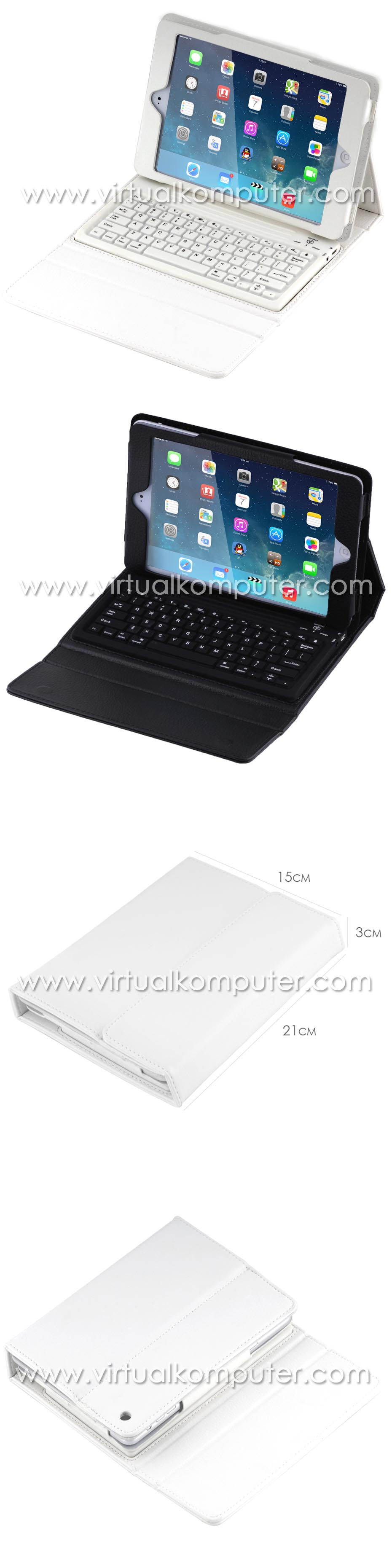 Keyboard Case for iPad Air Overview