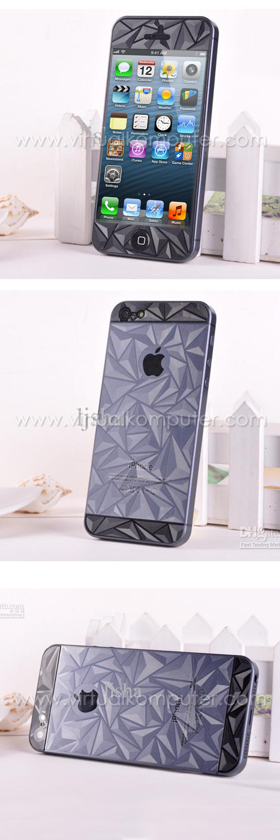 Screen Protector iPhone 4, 4S Front,Back 3D (Diamond2) Overview