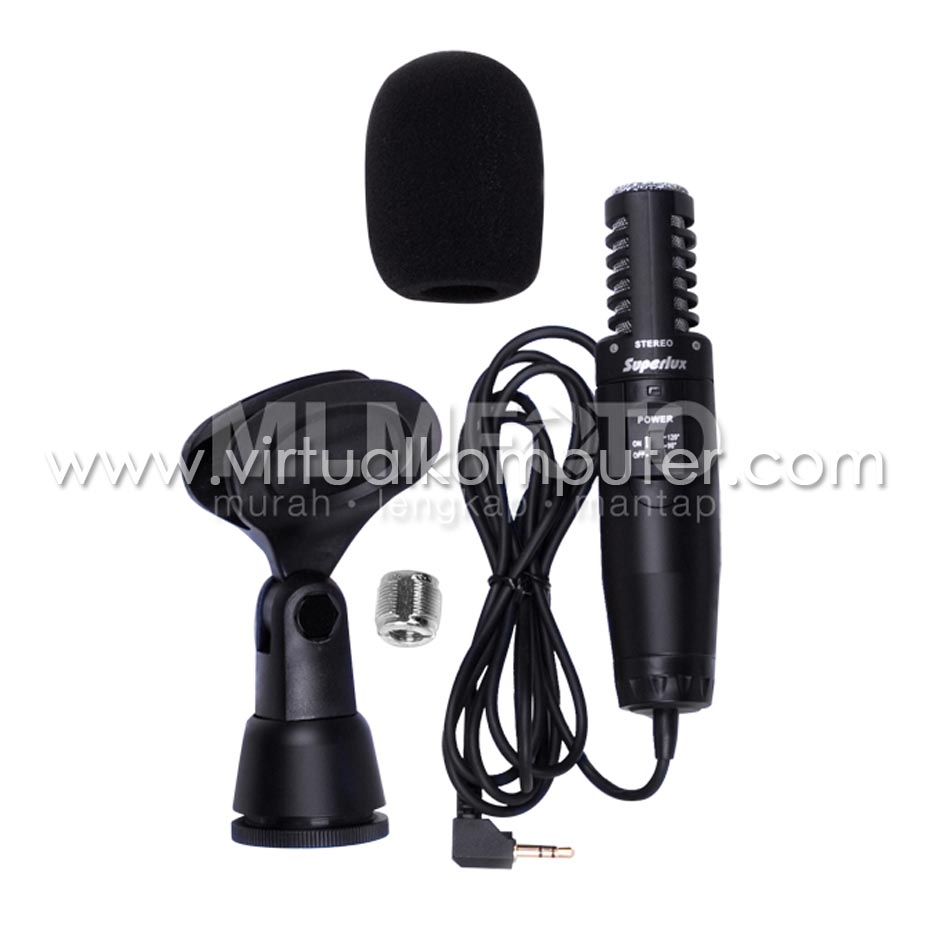 Superlux E-531B, Stereo Microphone Overview