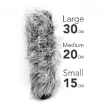 Windscreen Microphone, Deadcat Furry Size L