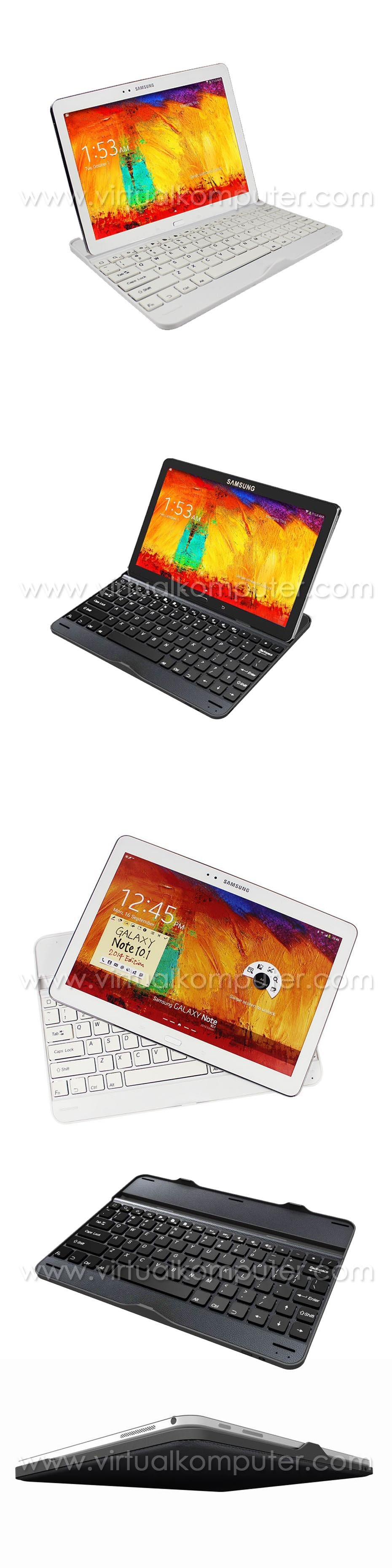 Ultra Slim Keyboard for Samsung Galaxy Note 10.1 2014 P601 Overview