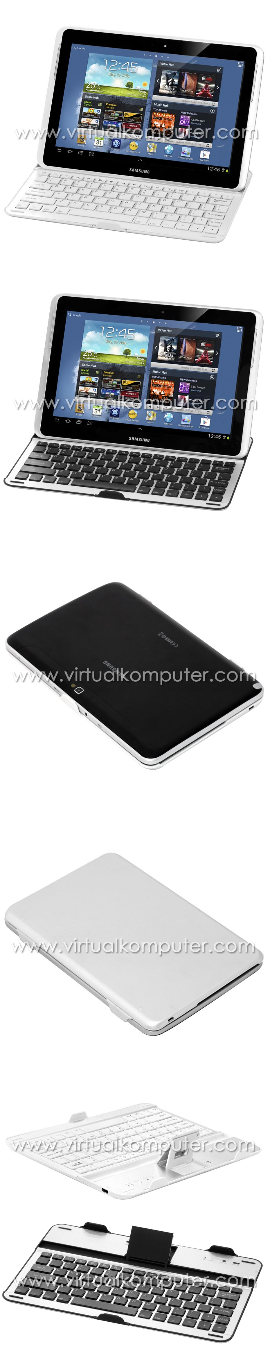 Ultra Slim Keyboard for Samsung Galaxy Note 10.1 N8000 Overview