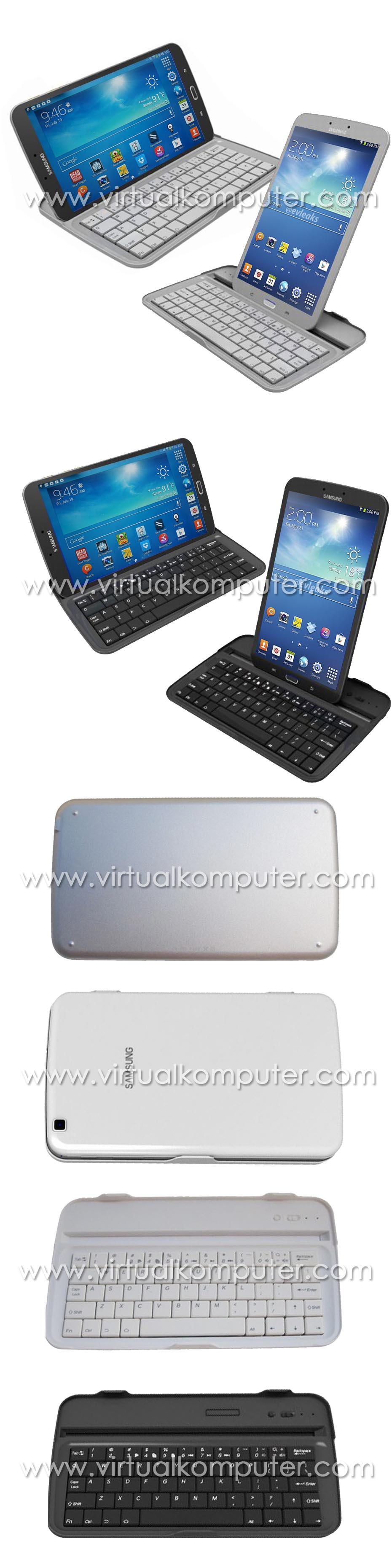 Ultra Slim Keyboard for Samsung Galaxy Tab3 8.0 T3110 Overview