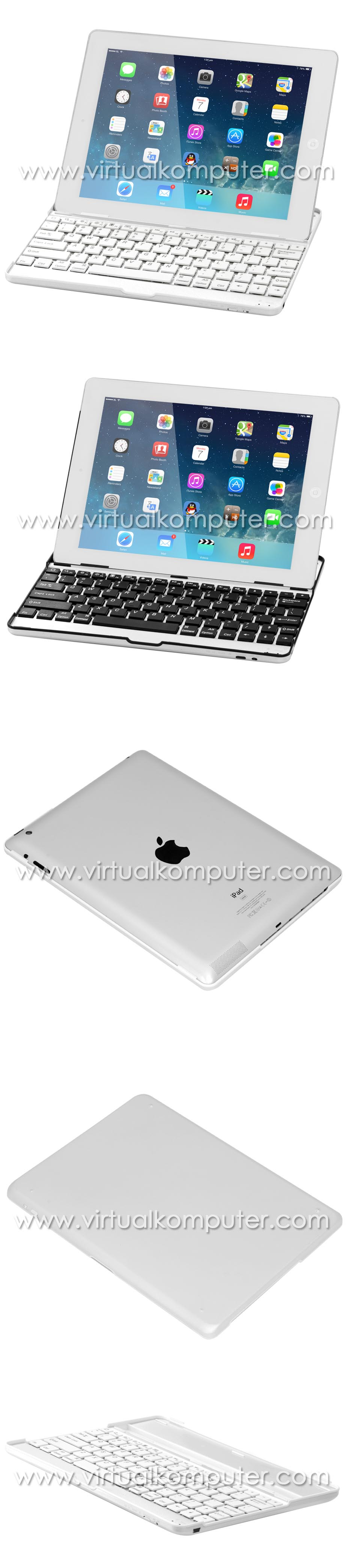 Ultra Slim Keyboard for iPad 2, 3, 4 Overview