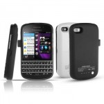 Power Case Flip Cover 2800mAh For Blackberry Q10