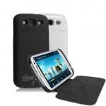 Power Case Flip Cover 3200mAh For Samsung S3 I9300