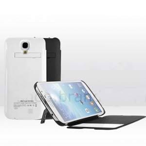 Power Case Flip Cover S-View 4000mAh for Samsung Galaxy Mega 6.3 I9200