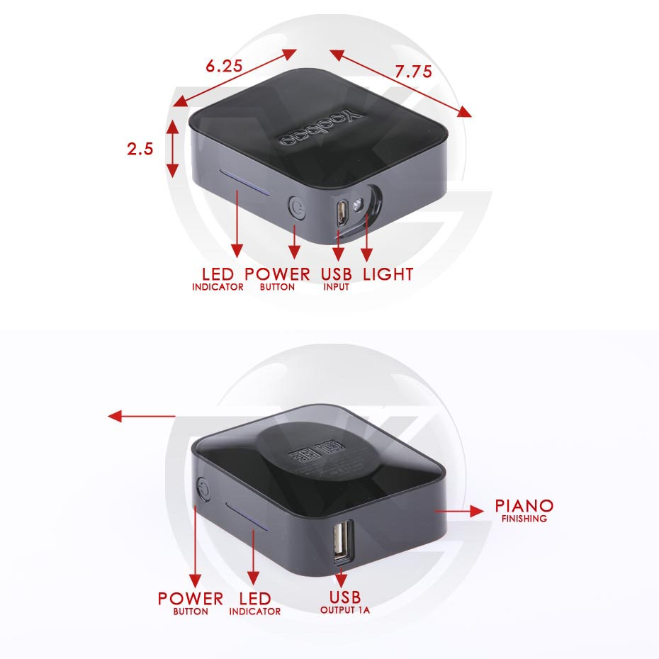 Powerbank Yoobao 4400mAh Magic Cube YB-627 Overview