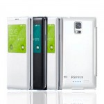 Keva Power Case Flip Cover S-View 2400mAh For Samsung Galaxy S5SM-G900