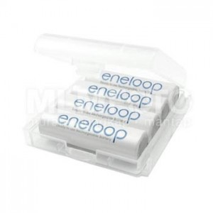 Crystal Battery Case for AA AAA