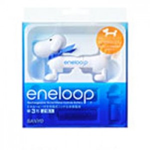 Eneloopy Battery Checker + 2xAA Battery (2000mAH)