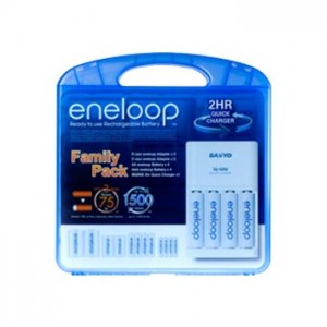 Sanyo Quick Charger Battery Charger Family Pack