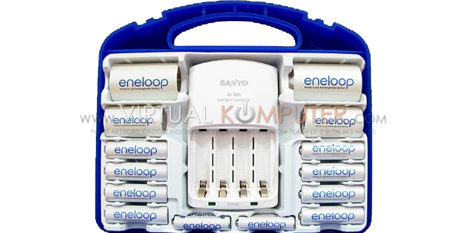 Sanyo Quick Charger Battery Charger Family Pack Overview