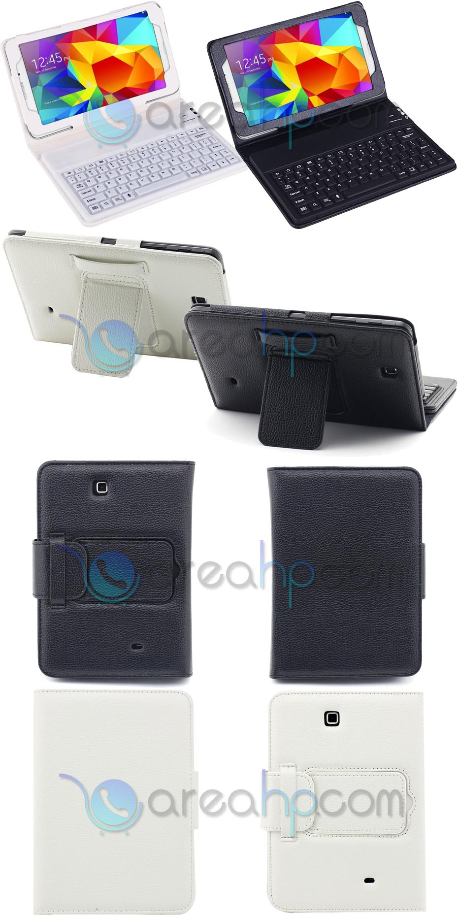 Keyboard Case for Samsung Galaxy Tab4 8.0 Overview