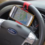 Car Steering Mount Holder for Phone