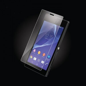 Explosion Proof Tempered Glass Film Sony Z2