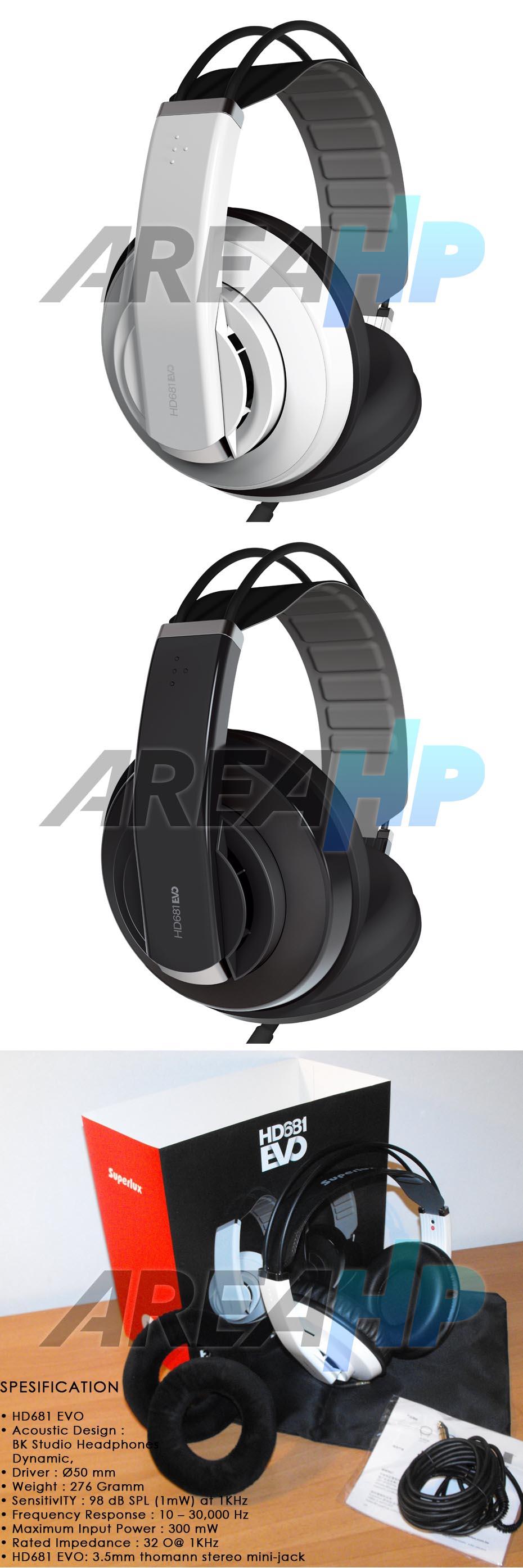 Headphone Superlux HD681 EVO Overview