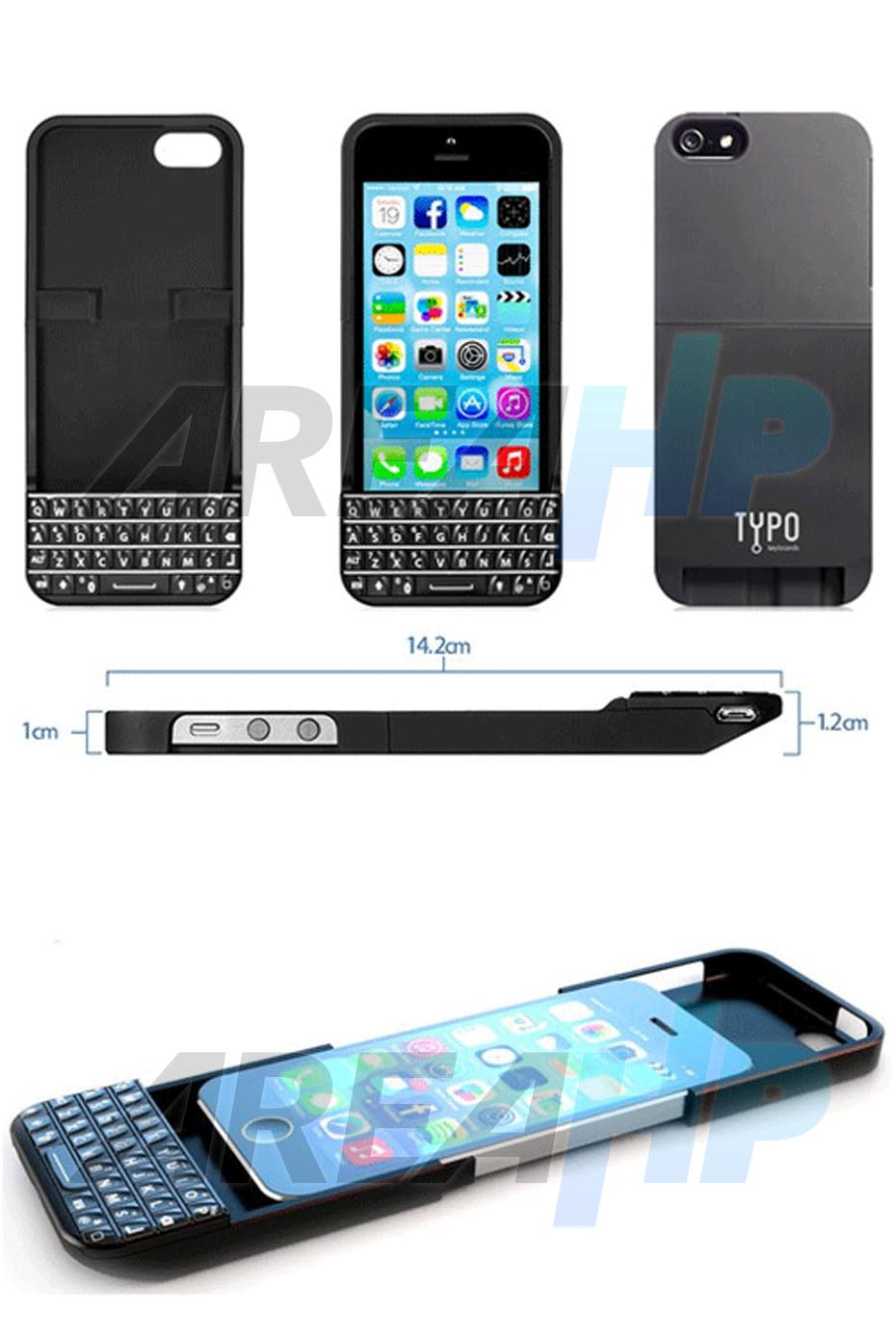 Keyboard Case Typo for iPhone 5, 5S Overview