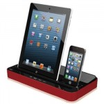 Ipega Dock Charger Speaker for All Phone, Tablet IOS, Android, Windows