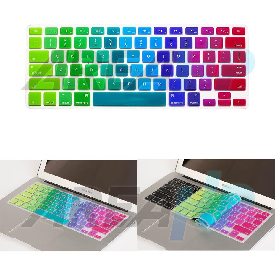 Keyboard Dazzle Rainbow Macbook Overview