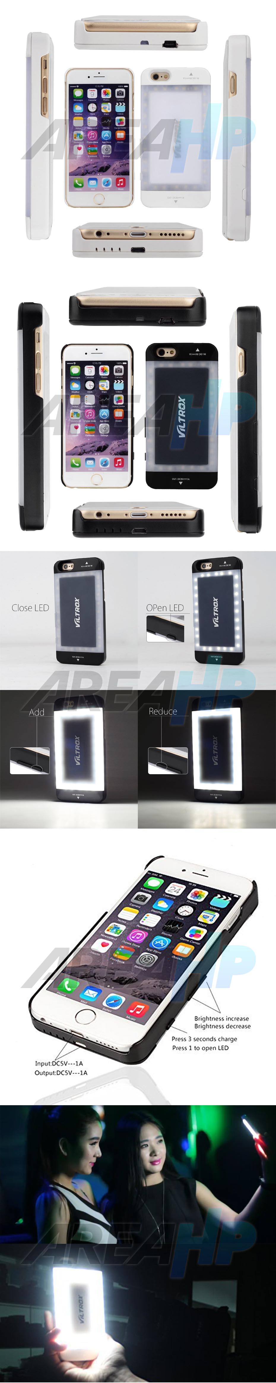Power Case LED Viltrox VX-03 3800mAh For iPhone 6 Overview