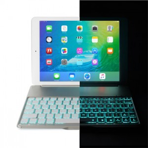Ultra Slim Keyboard Case Backlight for iPad Air 2