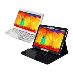 Removable Keyboard Leather Case for Samsung Galaxy Note 10.1 2014 P601