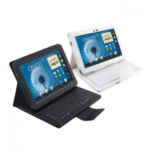 Removable Keyboard Leather Case for Samsung Galaxy Note 10.1 N8000