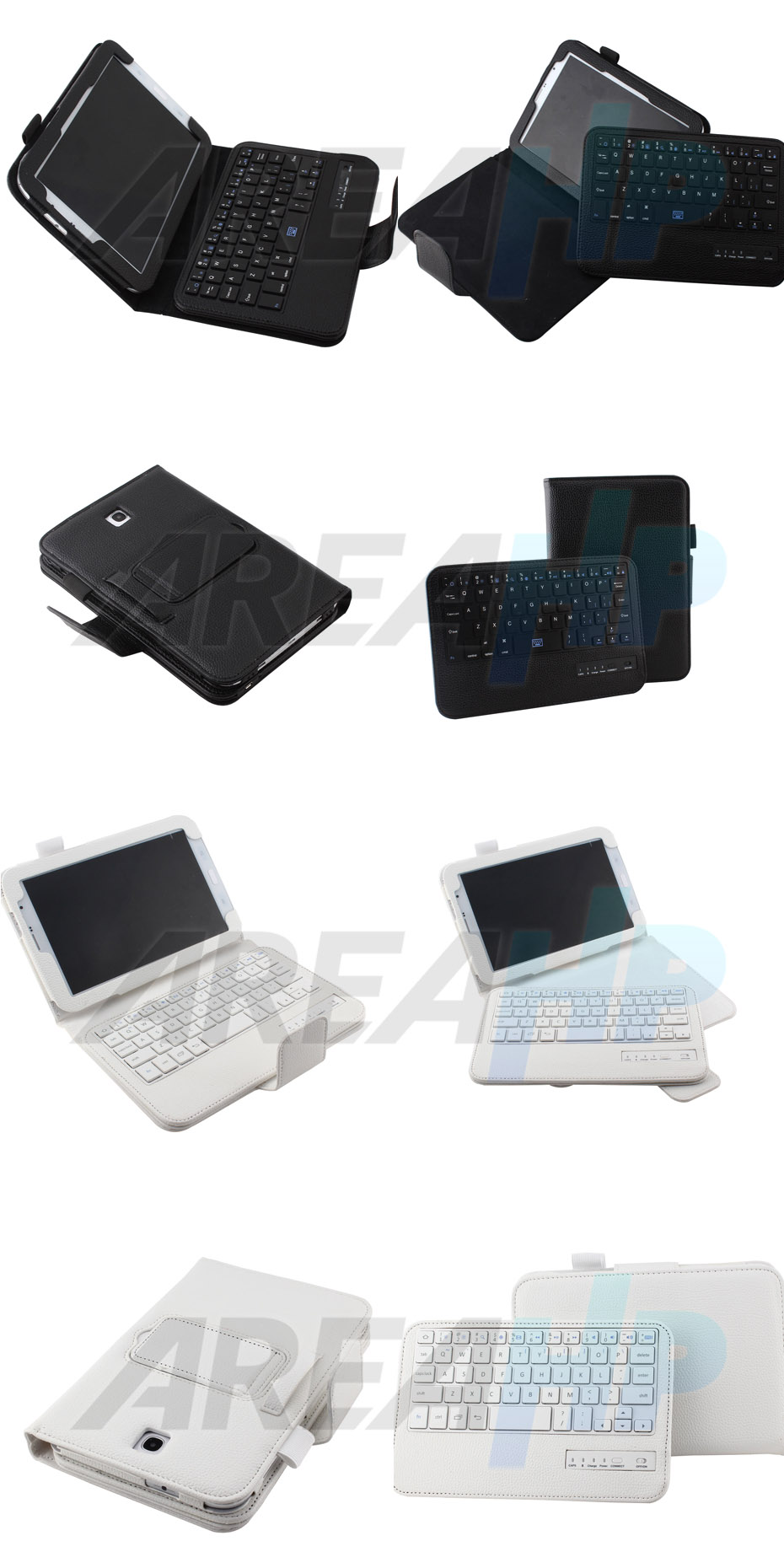 Removable Keyboard Leather Case for Samsung Galaxy Note 8.0 N5100 Overview
