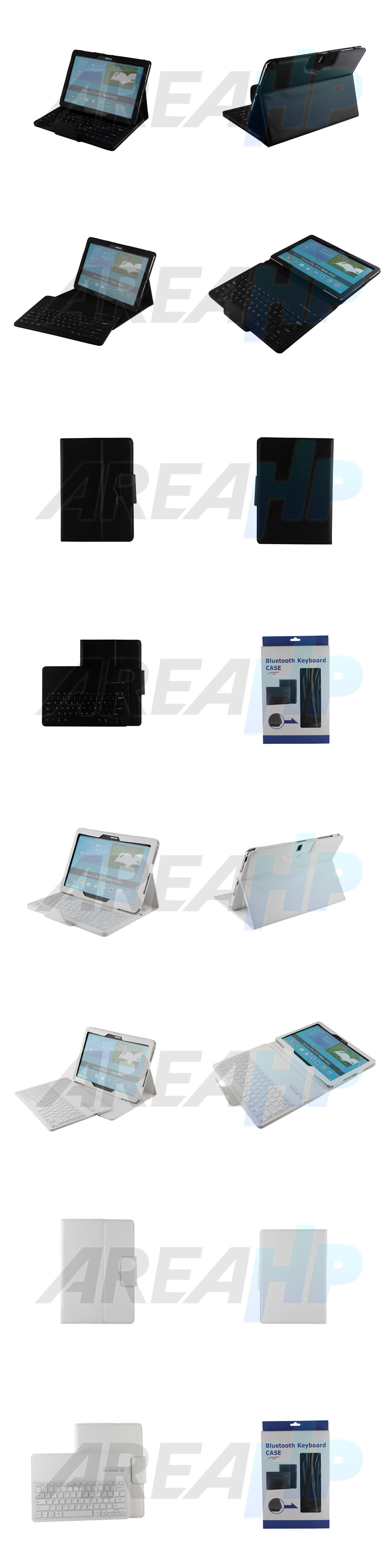 Removable Keyboard Leather Case for Samsung Galaxy Note Pro 12.2 P900 Overview